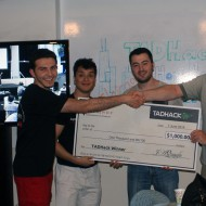 TADHack Chicago 2014 winner Hola Home by Abdulrhman Arnaout, Tameem Imamdad, and Raed Tawil