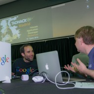 Andre and Rob getting excited about WebRTC