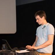 Anton live coding with Nexmo's developer resources