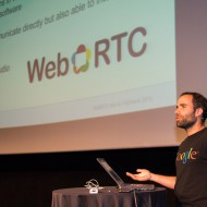 Andre Pinto from Google giving a WebRTC deep dive