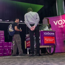 Voxbone provided the ice cream, which proved very popular