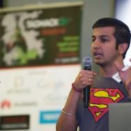 Arjun Kamath pitching Super Streamer