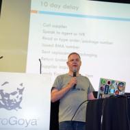 Tim Panton pitching Fragment at TADHack 2014