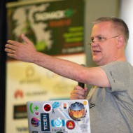 Tim Panton pitch Fragment at TADHack 2014
