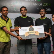 TADHack 2014 TADHack SriLanka winners Do It Yourself (DIY) telco app