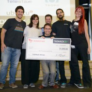TADHack 2014 Solaimes Prize winner Famous4Money by Jairo Canales, Francisco, Sergio, Mar, and Natalia