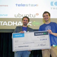 TADHack 2014 Nexmo Prize winner Dennis Kersten with Rich Number Database
