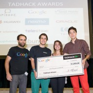TADHack 2014 Google Prize winner Whatspeer by Luis, Maria and Alex
