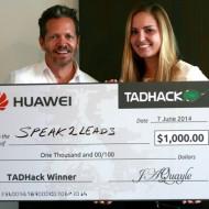 TADHack 2014 Huawei prize winner - Speak2leads