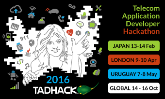 TADHack 2016 email banner