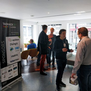 Networking, chatting, relaxing at TADHack - sponsored by Apidaze, Dialogic, Cisco Spark, Tropo, Matrix and Telestax