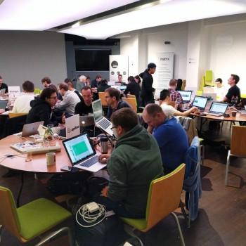 Dan is not coding, he's working on his WebRTC Summit presentation, Sam is hacking