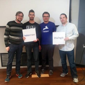 Rod Hodgson and Alex Francois win with Distillate - using AIto summarize a conversation
