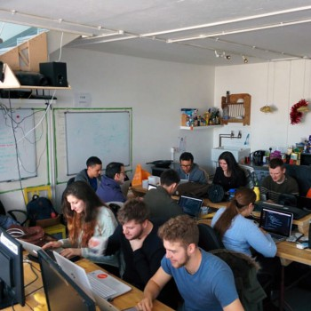 Founders and Coders in their natural habitat