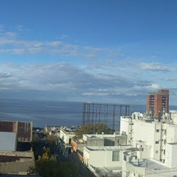 Panorama of downtown Montevideo